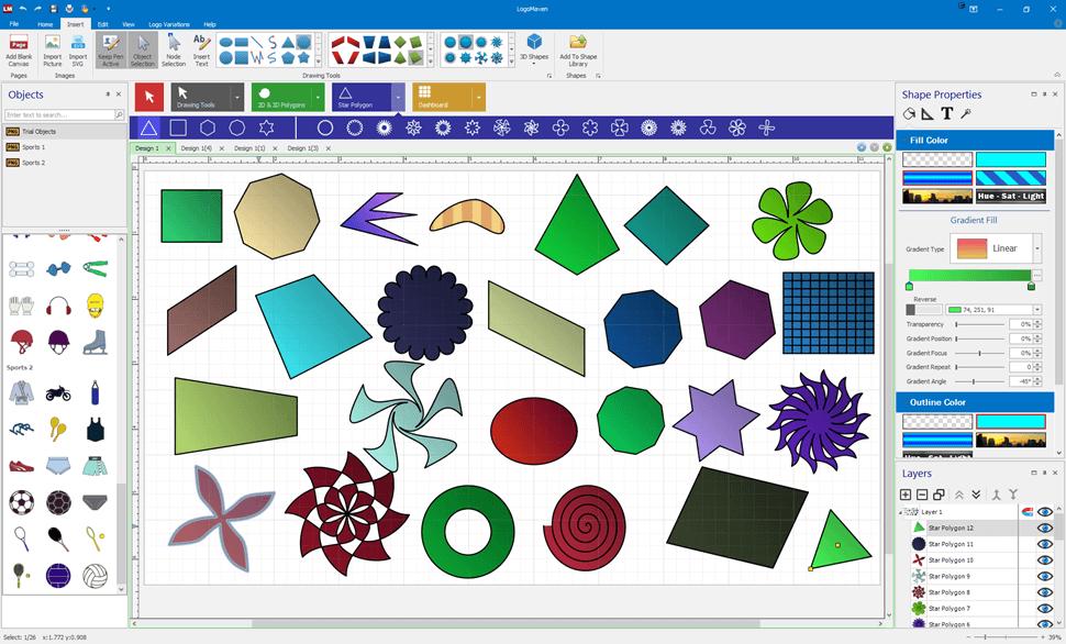 Logo-Design-Software-Screen-DrawingTools
